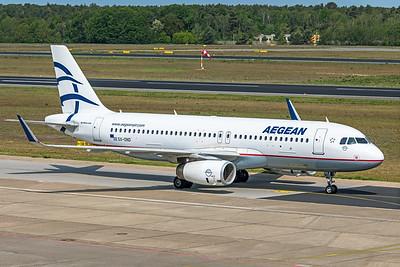 Aegean Airlines Airbus A320-232 SX-DND 5-24-19