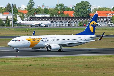 Mongolian Airlines Boeing 737-8SH JU-1015 5-23-19