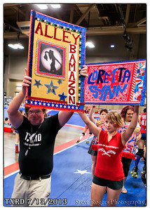 Texas Roller Derby: Holy Rollers vs. Rhinestone Cowgirls 7/13/13