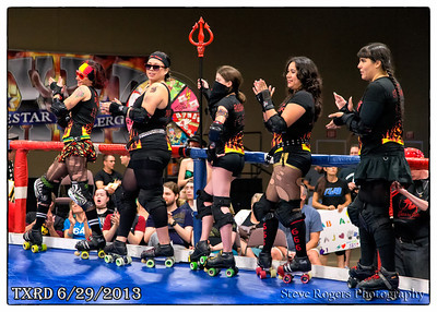 Cherry Bombs vs. Putas del Fuego - TXRD 6/29/2013