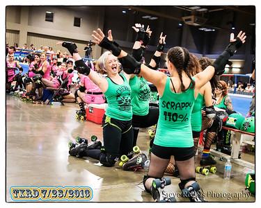 TXRD Hellcats vs The Cherry Bombs, 7/28/2013