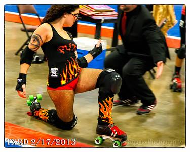 February 17 TRXD match Hellcats vs Putas Del Fuego