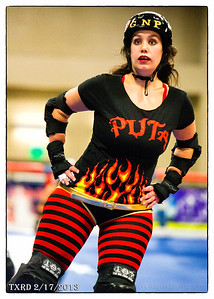 February 17 TRXD match Hellcats vs Putas Del Fuego