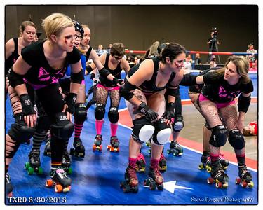 TXRD Rhinestone Cowgirls vs Hellcats