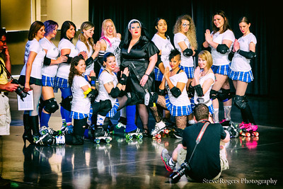 4/12/2014 TXRD Rhinestone Cowgirls vs Holy Rollers at the TXRD Lonestar Rollergirls Bout
