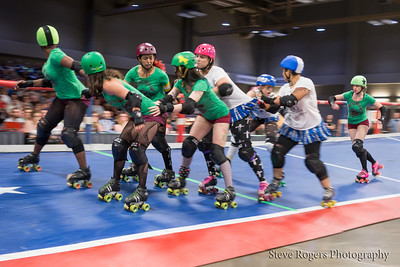 TXRD Holy Rollers vs Cherry Bombs 6/14/2014