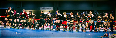TXRD Putas del Fuego - VS Hellcats 3/22/2014