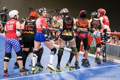 TXRD Putas del fuego vs. Rhinestone Cowgirls 5/31/2014