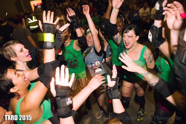 TXRD Hellcats vs. Cherry Bombs 6/20/2015