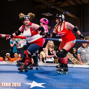 TXRD Hellcats vs. Rhinestone Cowgirls 4/18/2015