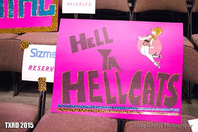 TXRD Putas del Fuego vs. Hellcats 8/8/2015