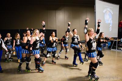 TXRD Rhinestone Cowgirls vs. Holy Rollers 5/30/2015