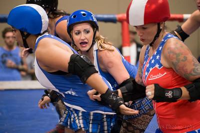 TXRD Holy Rollers #mfhr vs. Rhinestone Cowgirls 8/20/2016