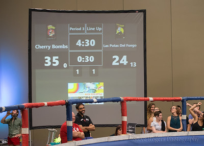 TXRD Putas del Fuego vs. the Cherry Bombs 7/31/2016