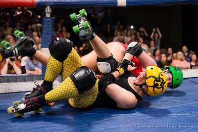TXRD Putas del Fuego vs. Rhinestone Cowgirls 6/4/2016