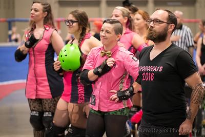 TXRD Rhinestone Cowgirls vs. Hellcats 7/16/2016