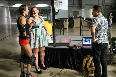 TXRD Championships Cherry Bombs vs. Putas del fuego 11/4/2017