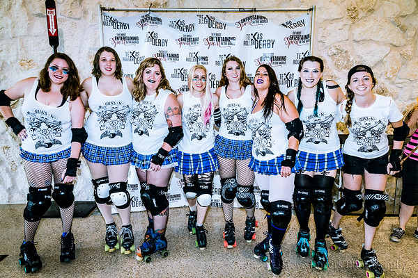 2017 TXRD Hellcats vs. Holy Rollers