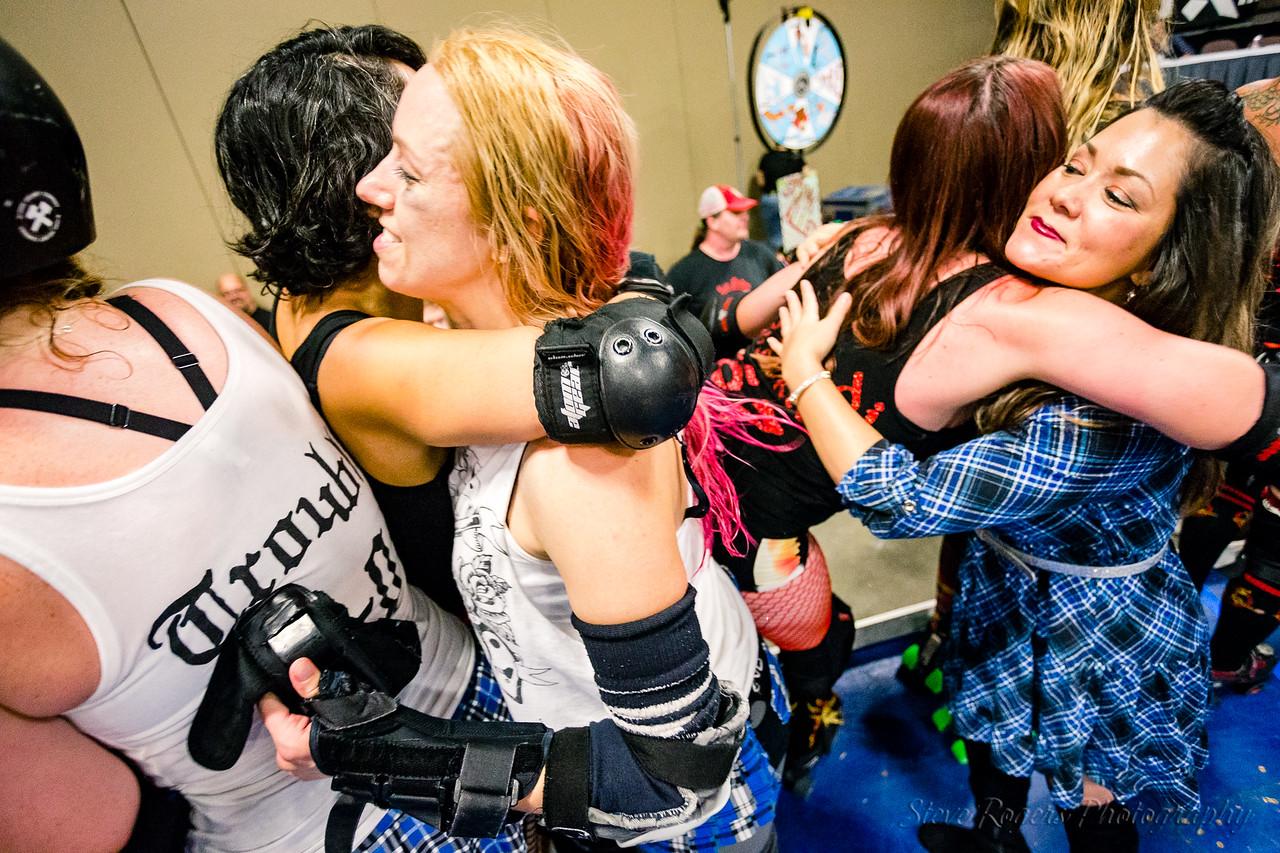 TXRD Las Putas del Fuego vs Holy Rollers 8/5/2017