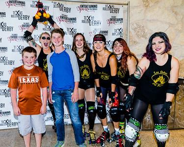 Las Putas del Fuego vs Rhinestone Cowgirls 7/8/2017