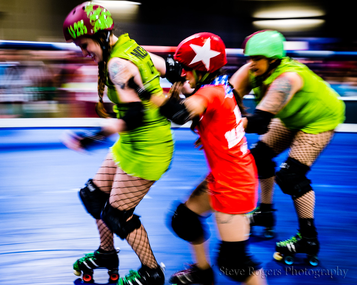 TXRD Rhinestone Cowgirls vs. Cherry Bombs 8/19/2017