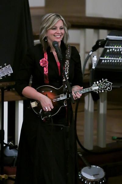 The Isaacs perform at Tabernacle 10/1/2009