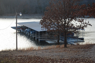 Community dock.