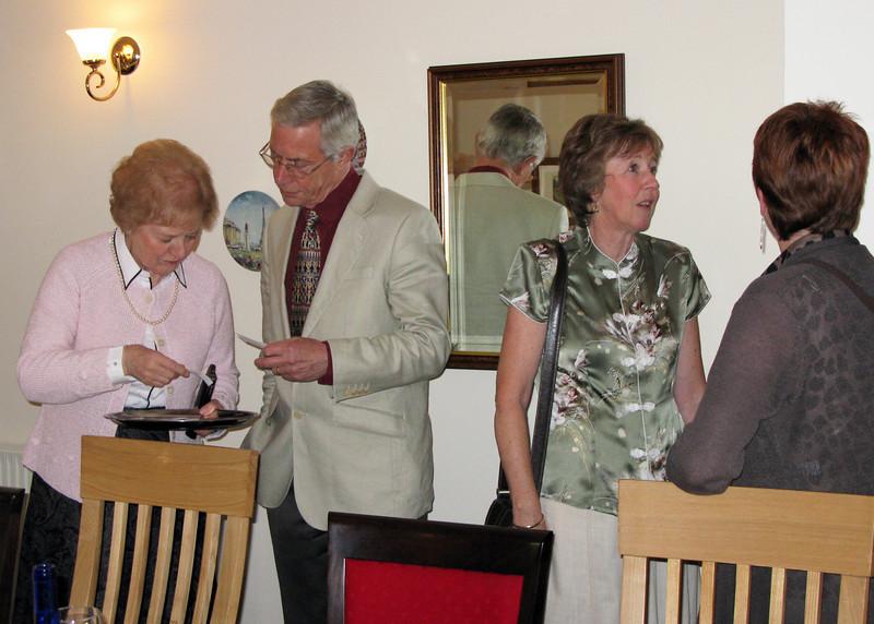 Irene, John, Gayle & Chrissie