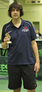 Charlie Morrison (Aldworth) who was runner-up in the Division Three Singles event.