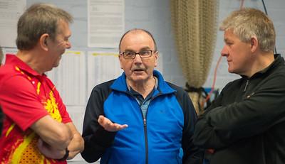 Terry White, Dave Kimberley and Tony Aimes
