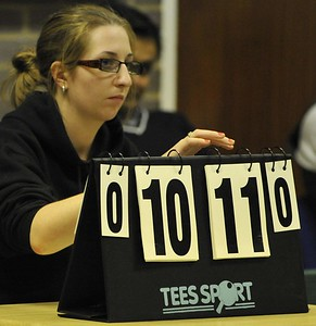 Sue Tompsett keeps score