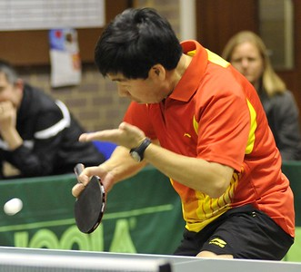 Kam Pang (Queens) who was runner-up in the Division Two Singles final to Denise Weller.