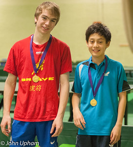 Morgan Smith (South Wonston TTC) and Ben Smith