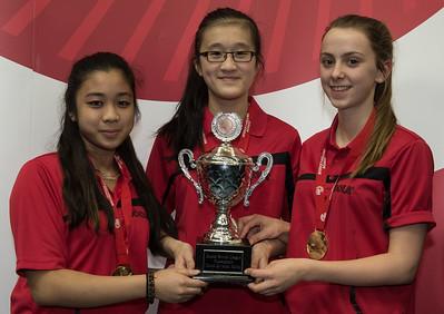 Division Three Winners: Ellenborough Girls B