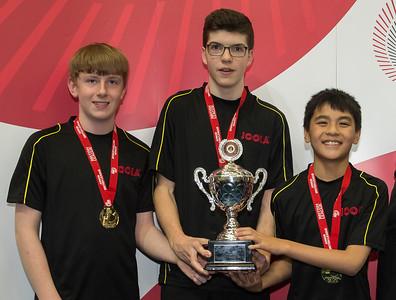 Division 4A Winners: Draycott E-M Boys 2
