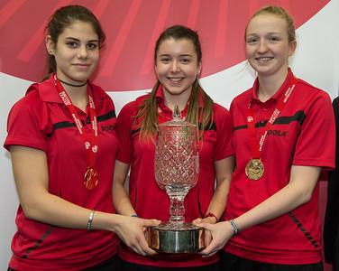 Premier Division Winners: Ellenborough Girls A