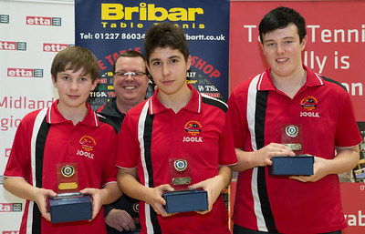 Draycott East Midlands Boys: Division 2A runners-up