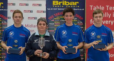 Deutsche Bank Guernsey 1: Division 3B winners