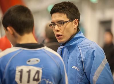 Charlie Rahbani and Michael Chan (Coach) of Brunswick Ashford