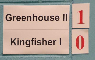 Greenhouse II vs Kingfisher I