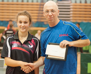 Maria Tsaptsinos at the Bribar Guildford Open