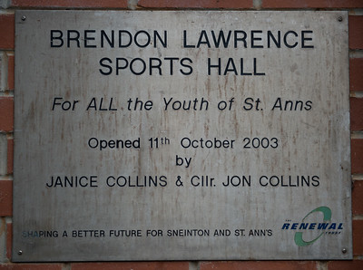 The Brendon Lawrence Sports Hall