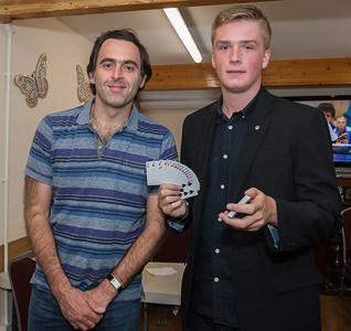 Ronnie O'Sullivan & Leon the Magician