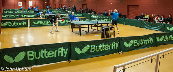 Halton Table Tennis Centre provided superb facilities for teams, players, spectators and media.