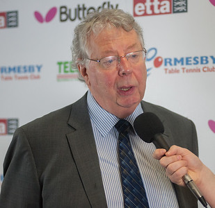 Alan Ransome, Chairman of Ormesby Table Tennis Club