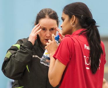 NPC Marianne Jorgensen and Nivedita Sunil (Fusion Ladies)