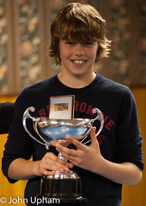 George Helling (Godalming), winner of the The Advancement Trophy.