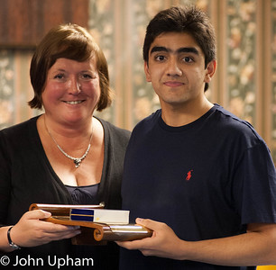 Tracy Haley & Rohan Butt (Godalming), winner of the President & Vice Presidents Award.