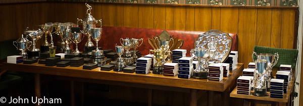 The trophies were superbly presented by the GTTA Trophy  Steward, Trevor Free.
