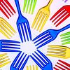 Rainbow fork